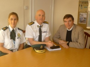 Michelle Brotherton and Anthony Marsh from WMAS at the meeting with Philip Dunne MP