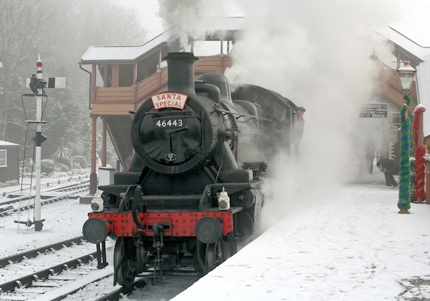 Christmas By Train