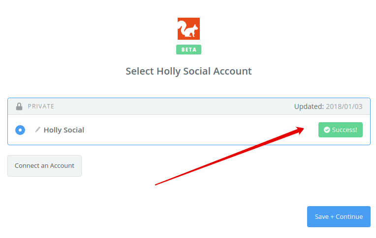 How To: Connect Holly Social with Zapier 7
